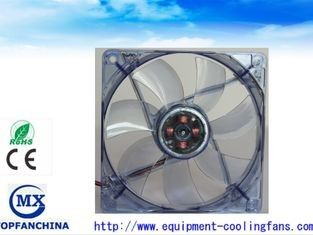 China De transparante Blauwe Koelventilators van het Computergeval, 12V-Laptop Koelventilator fabriek